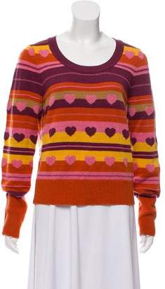 Marc by Marc Jacobs Patterned Wool Sweater