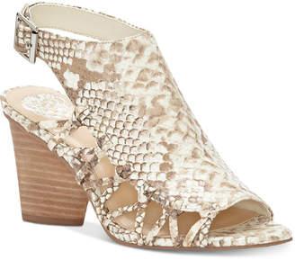 Vince Camuto Ankara Peep-Toe Slingback Sandals Women's Shoes