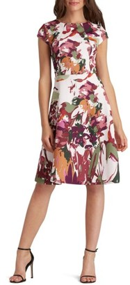 Women's Eci Scuba Fit & Flare Dress $88 thestylecure.com