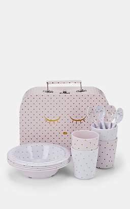 Livly Melamine Dish Set - Pink