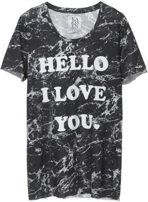 Zoe Karssen Hello Loose-Fit Tee
