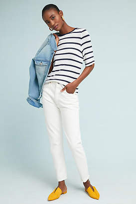 Citizens of Humanity Liya Ultra High-Rise Straight Cropped Jeans