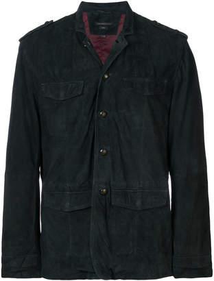 John Varvatos four-pocket design blazer