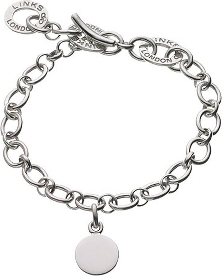 Links Of LondonLinks of London Baby disc sterling silver charm bracelet