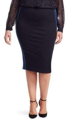 Marina Rinaldi Marina Rinaldi, Plus Size Jersey Pencil Skirt