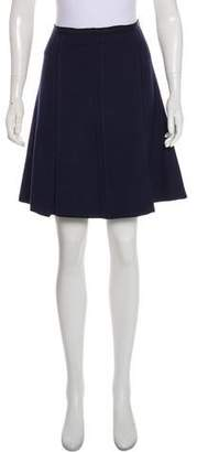 Marc by Marc Jacobs Wool A-Line Skirt
