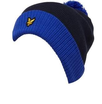 d81fe12d60c Lyle   Scott Vintage Mens Bobble Hat Navy Cobalt