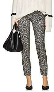 Philosophy di Lorenzo Serafini Women's Floral Crepe Cigarette Pants - Gray