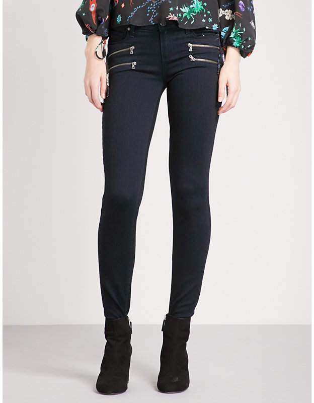 Edgemont ultra-skinny high-rise jeans