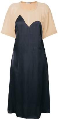 Aalto contrast shift dress