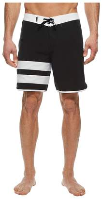 Hurley Phantom Block Party Solid 18 Boardshorts Men's Swimwear
