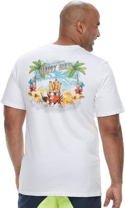 "Big & Tall Cotton Links ""The Ultimate Happy Hour"" Tee"