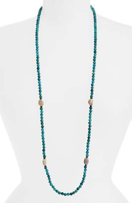 Armenta New World Apatite & Opal Beaded Long Necklace