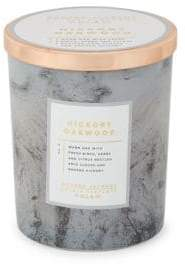D.L. & Co. Hickory Oakwood Scented Candle