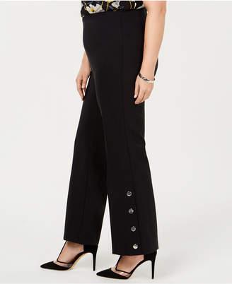 INC International Concepts I.n.c. Plus Size Embellished Bootcut Pants