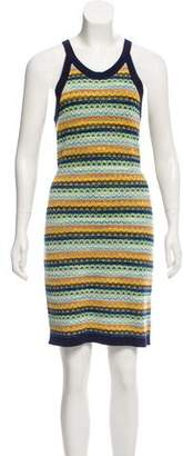 Magaschoni Patterned Bodycon Dress
