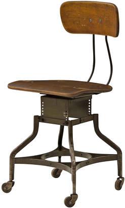 Rejuvenation Adjustable Factory Chair by Toledo Metal Furniture Co
