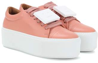 Acne Studios Exclusive to mytheresa.com – Drihanna nappa leather platform sneakers