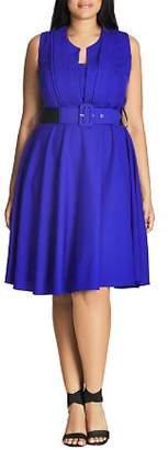 City Chic Plus Vintage Veronica Dress