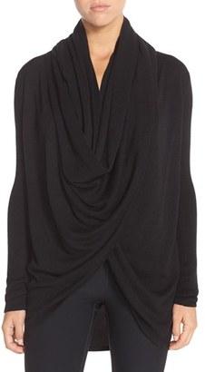 Women's Nordstrom Lingerie Long Wrap Cardigan $68 thestylecure.com