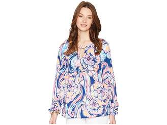 Lilly Pulitzer Willa Top Women's Clothing