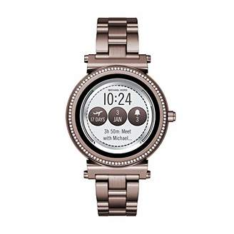 Michael Kors Women's Sofie Touchscreen Smartwatch Stainless Steel Plated