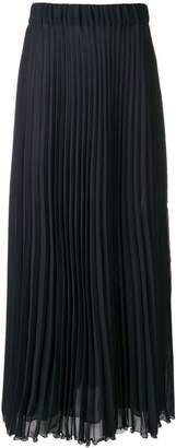 P.A.R.O.S.H. pleated long skirt