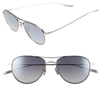 Salt 'Meadows' 54mm Polarized Aviator Sunglasses