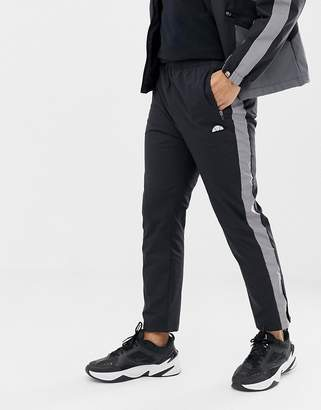 Ellesse Nardo Track Joggers With Relfective Side Stripe In Black