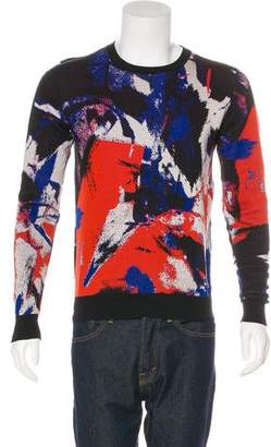 Christian Dior 2014 Patterned Crew Neck Sweater