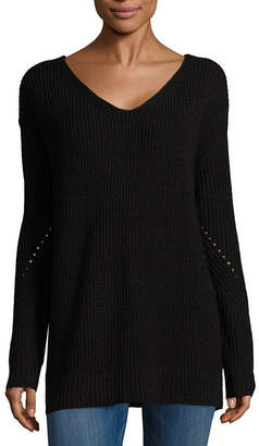 A.N.A Long Sleeve V-Neck Pullover Sweater