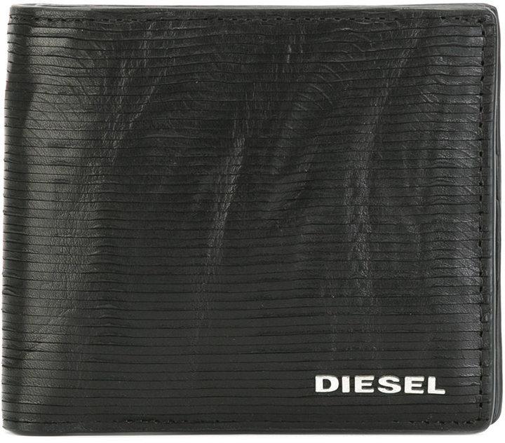 DieselDiesel logo plaque wallet