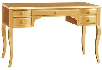 Pottery Barn Teen The Emily & Meritt Gold Lilac Desk