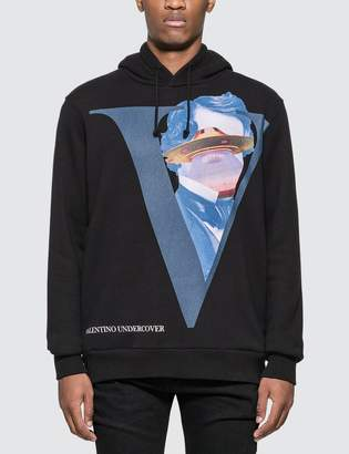 Undercover Valentino x V Face Hoodie