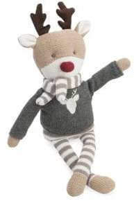 Elegant Baby Knit Cotton Reindeer Toy