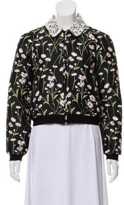 Giambattista Valli Embroidered Bomber Jacket