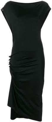 Paco Rabanne wrap draped dress