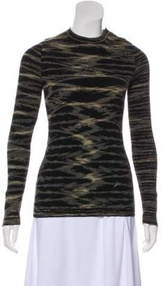 Anna Sui Sui by Wool Long Sleeve Sweater