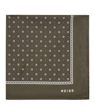 Reiss Phillip Silk Pocket Square