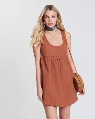 Skye Cotton Smock Dress