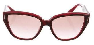 Miu Miu Square Gradient Sunglasses