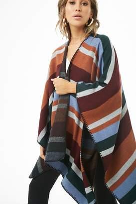 Forever 21 Multicolored Striped Shawl