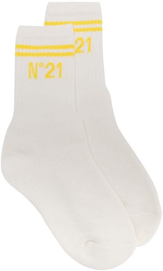 No21 logo socks