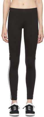 adidas Black Trefoil Leggings