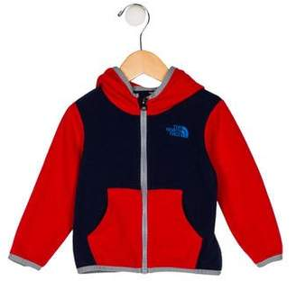 The North Face Boys' Hooded Fleece Jacket