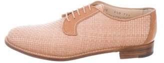 Gravati Woven Leather Oxfords w/ Tags