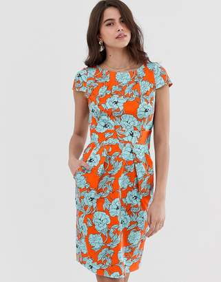 Closet London Closet tulip tie back dress