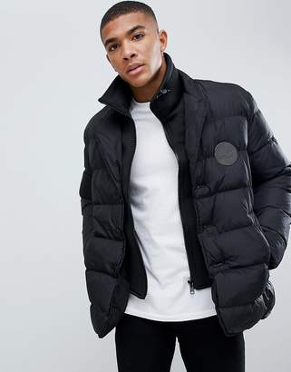 Love Moschino Double Layer Look Puffer Jacket