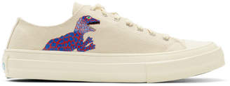 Paul Smith White Dino Kinsey Sneakers