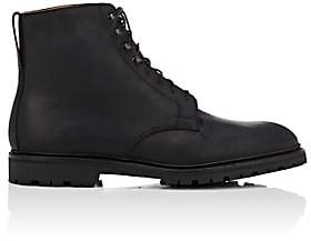 Crockett Jones Crockett & Jones Men's Eskdale Oiled Suede Boots - Black